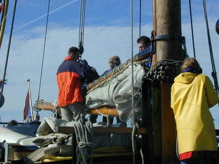 You are currently viewing Mit dem Großsegler auf dem Ijsselmer und der Nordsee