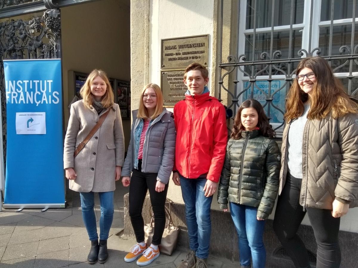 Read more about the article Französisch – Teilnahme an Wettbewerben